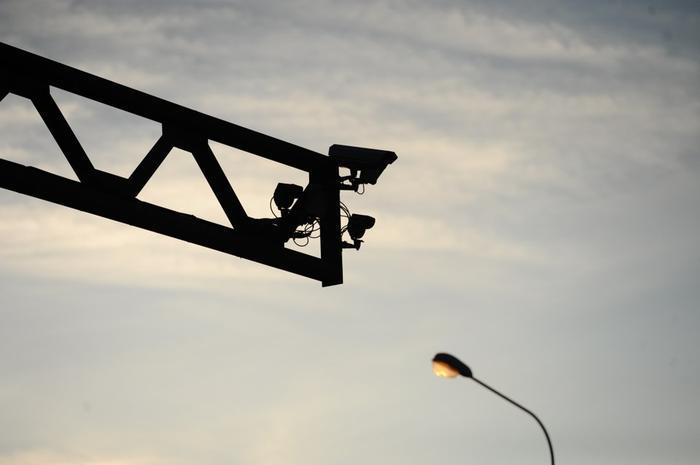 На дорогах становится все больше камер