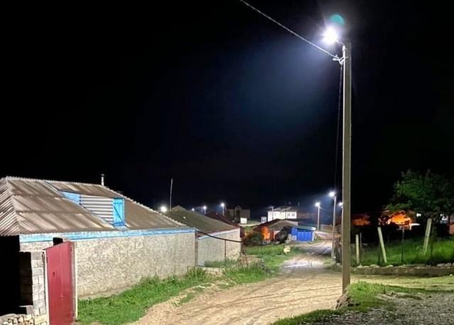 В Ингушетии полковник полиции за свой счёт провёл в родное село уличное освещение