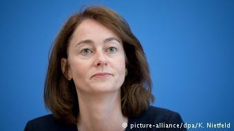 Министр по делам семьи ФРГ Катарина Барлей