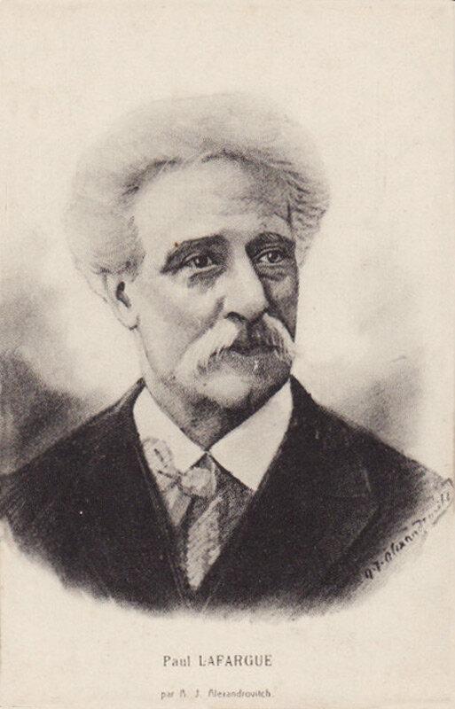 Поль Лафарг, экономист, философ