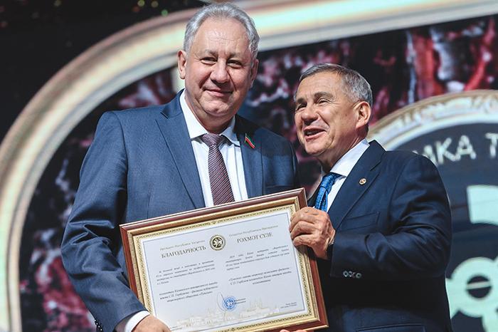 Принято решение обизбрании президента ТатарстанаРустама Миннихановапредседателем совета директоров ПАО «Туполев»