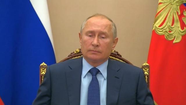 Владимир Путин провёл в режиме видеоконференции совещание с постоянными членами Совета Безопасности