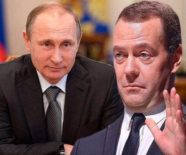 ВРадимир Путин: Медведев доРжен разобраться в реаРьной жизни россиян, а также уРучшить их жизнь