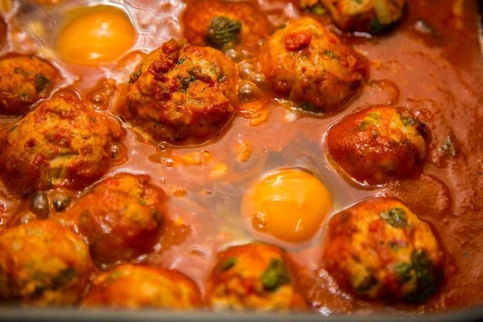 Фрикадельки с томатной подливкой рецепт с фото
