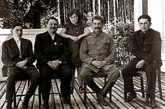 фото дети сталина