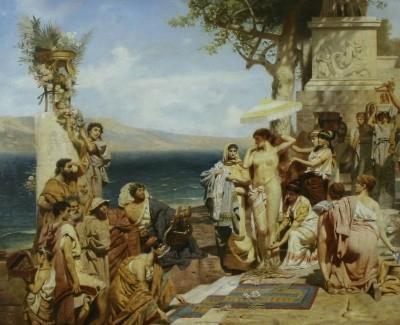 Римские оргии иллюстрации