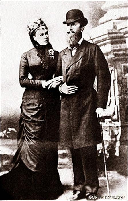 Николай Вильгельм Нассауский с супругой