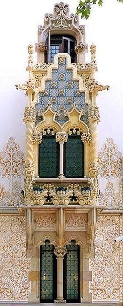 Балконы и эркеры Барселоны. 2