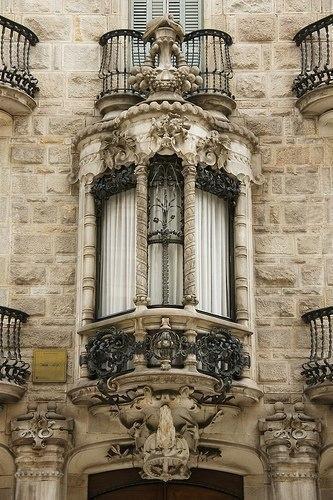 Балконы и эркеры Барселоны. 4