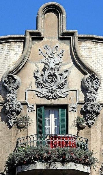 Балконы и эркеры Барселоны. 5