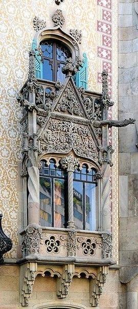 Балконы и эркеры Барселоны. 6