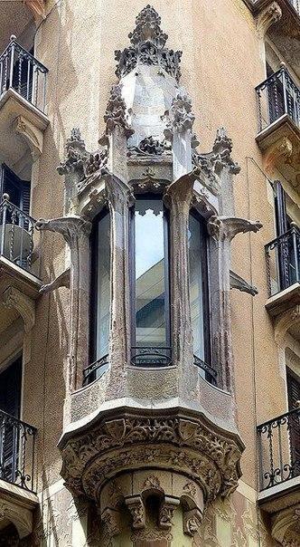 Балконы и эркеры Барселоны. 7