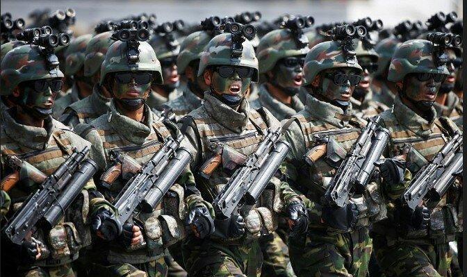 Северокорейский спецназ