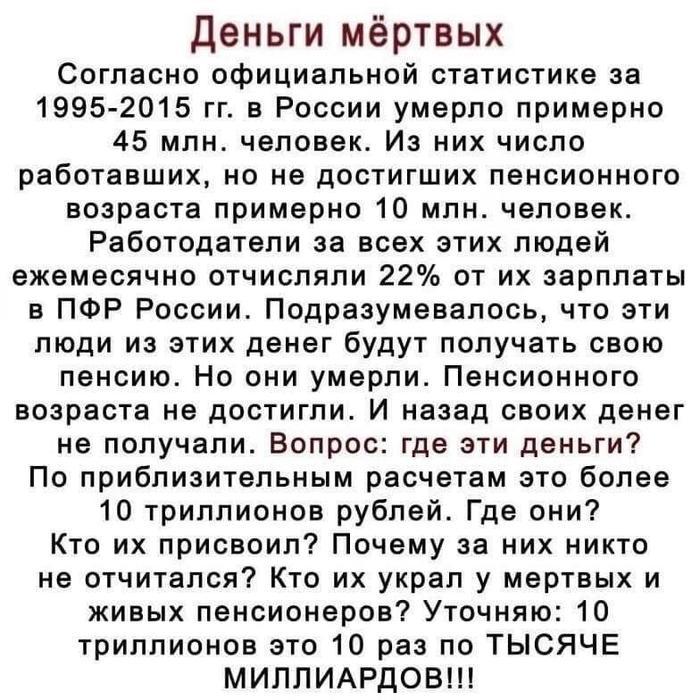 Кто и как опустошал счета пенсионных фондов и банков в России