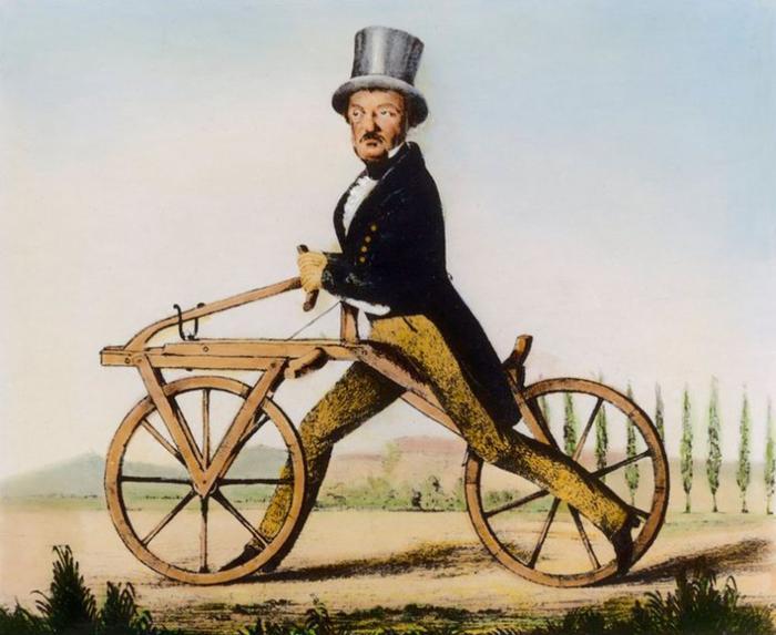 Прототип велосипеда Карла Дреза