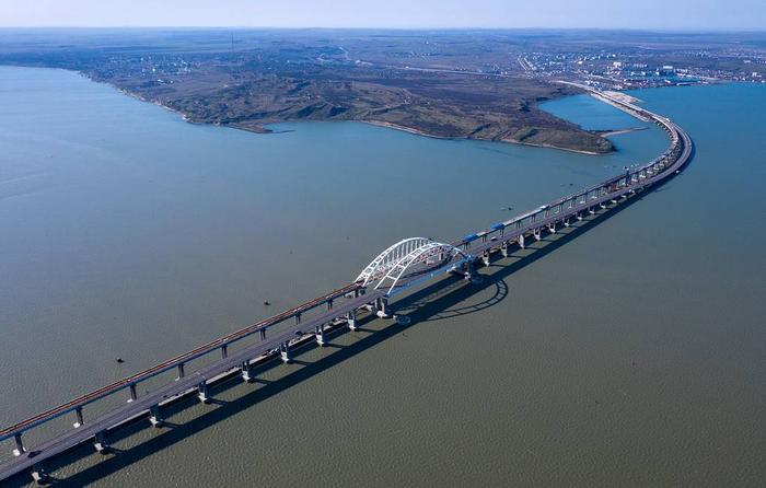 Крымский мост Сергей Мальгавко/ТАСС