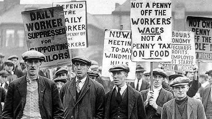 the reverberations of the infamous general strike of 1926 in britain
