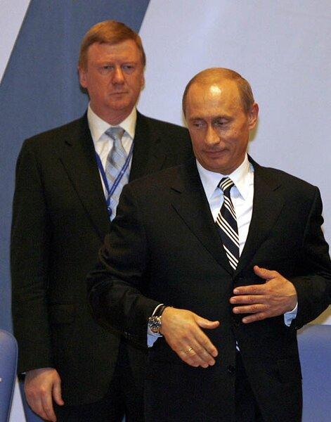 Newsland Бывший мэр Самары Сысуев говорил, что общался с Чубайсом по поводу Путина.