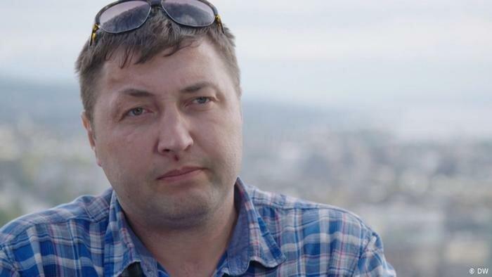 Экс-боец белорусского СОБРа Юрий Гаравский