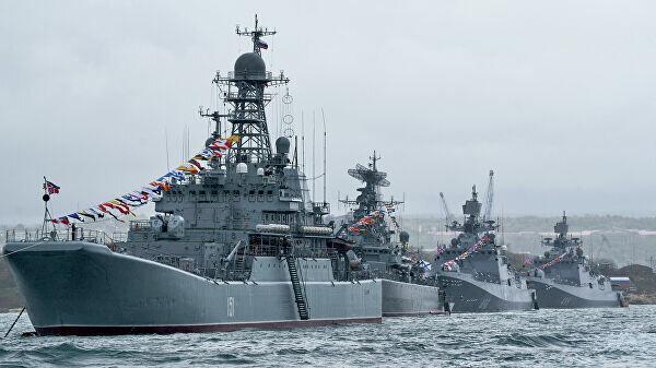 Черноморский флот  России, 2020