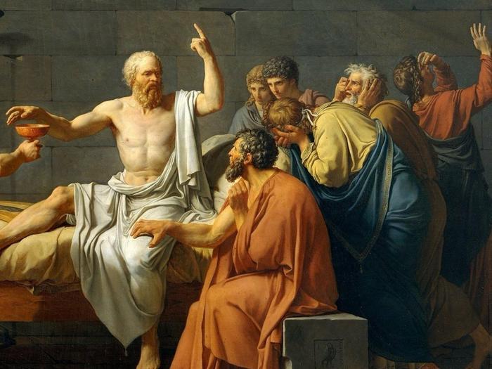 Сократ, казнённый за оскорбление чувств верующих