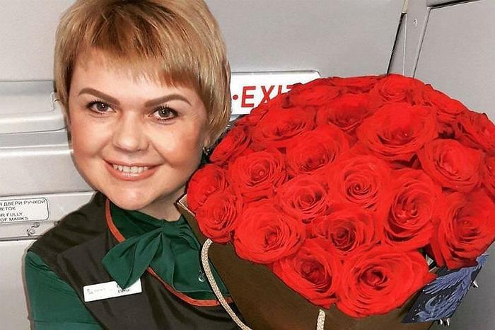 Елена Лапуцкая работает в авиации уже 18 лет. Фото: соцсети
