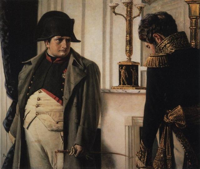 Василий Верещагин. Наполеон и маршал Лористон (Мир во что бы то ни стало). 1899–1900