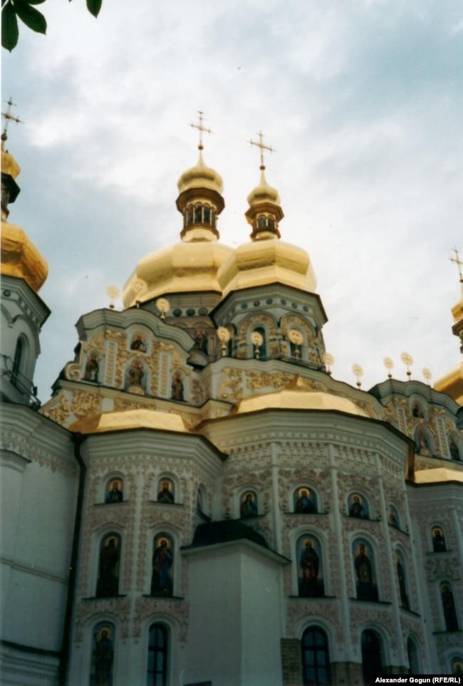 Восстановленный Успенский собор Киево-Печерской лавры