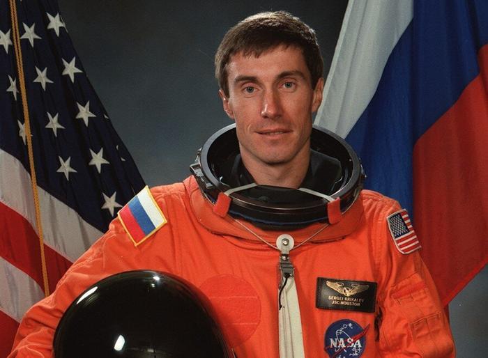 Сергей крикалев фото