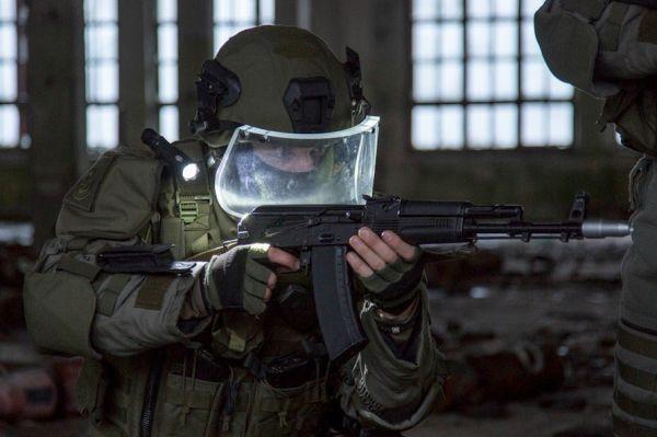Военнослужащий ВС инженерных войск ВС России