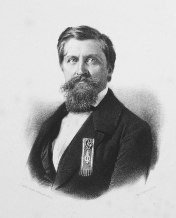 Жорж Дантес, председатель Генерального совета и мэр города Сульца