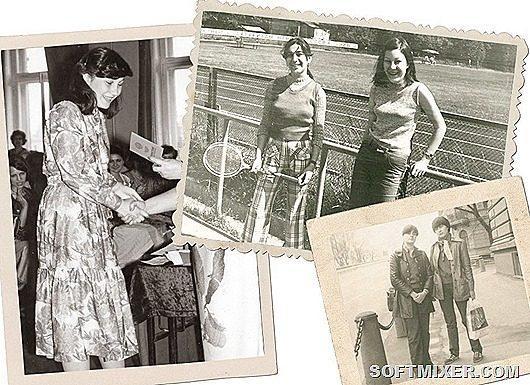 Фотография с ракеткой сделана в середине 70-х, я здесь со своей школьной  подругой Мариной. В то время мы фанатели по мелодиям и рифмам зарубежной  эстрады  ... babecaf43cd