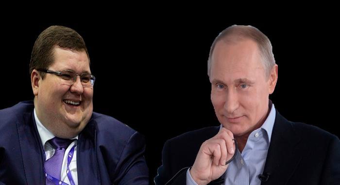Игорь Чайка и Владимир Путин