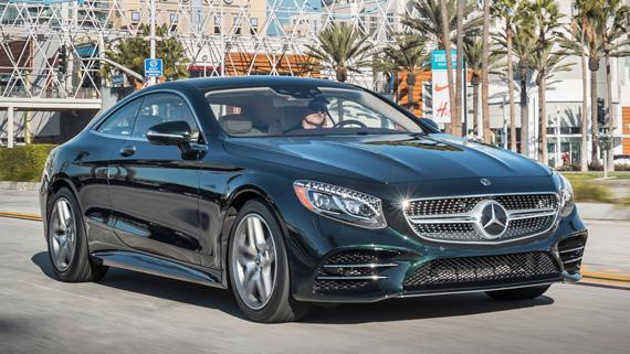 Купе Mercedes-Benz S560 Coupe 2018 / Мерседес-Бенц S560 2018