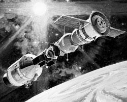 Союз-Апполон (фото: NASA)