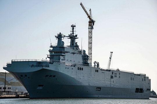 Универсальный десантный корабль  Мистраль