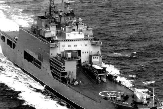 В 1978 1989 годах было построено три таких БДК, причем  Иван Рогов  так же был головным. То есть прослеживается преемственность от поколений советских корабелов и моряков