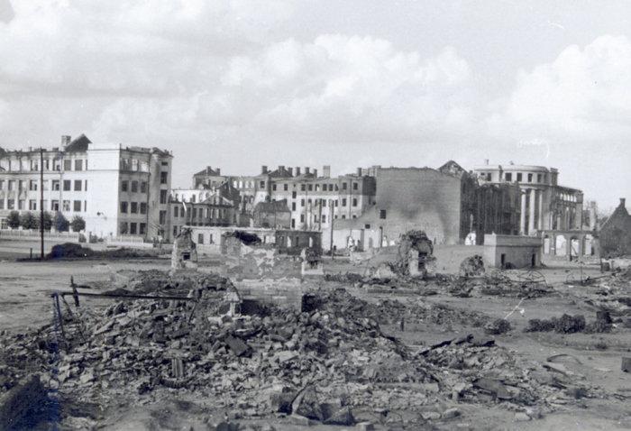 Послевоенный Минск. / Фото: www.sputnik.by
