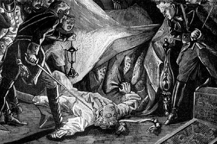 Великая страна СССР,убийство императора Павла I