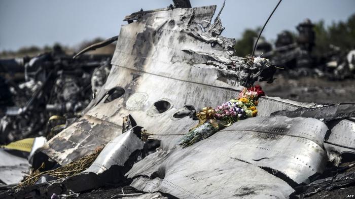 """Место авиакатастрофы """"Боинга-777"""", Донецкая область, июль 2014 года"""