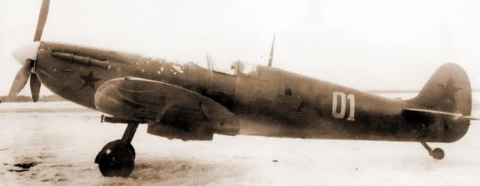 Разведчик «Спитфайр» PR Mk.IV — одна из машин, оставленных британцами и применявшихся в 118-м разведывательном авиаполку ВВС Северного флота - Арктические конвои: плечом к плечу  в «холодном углу ада» | Warspot.ru