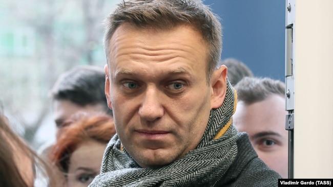 Оппозиционер Алексей Навальный (Архивное фото)