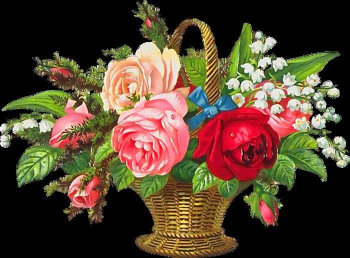 Днем рождения, картинки поздравляем анимация с цветами