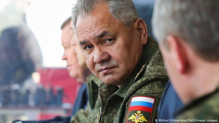 Министр обороны Рорссии Сергей Шойгу