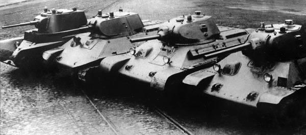 Фото:  История легендарного танка Т-34