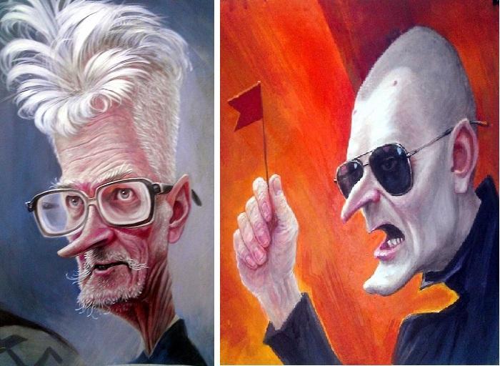 «Лимонов». «Удальцов». Карикатуры и шаржи от художника Дениса Лопатина