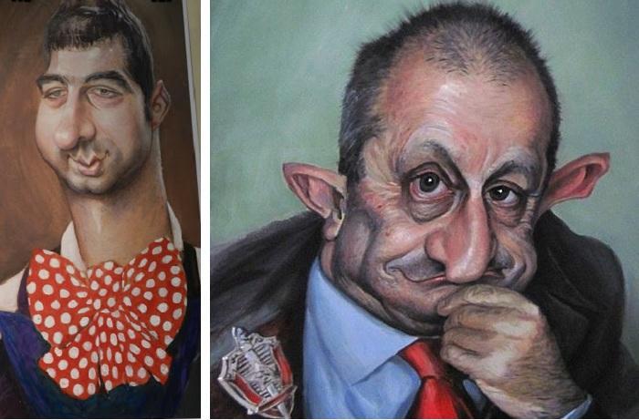 «Ургант». «Кедми». Карикатуры и шаржи от художника Дениса Лопатина