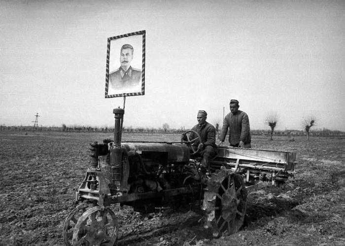 Сталин трактор