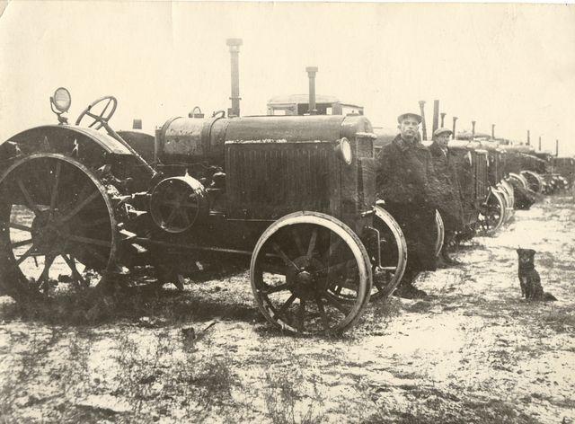 колхоз трактор7