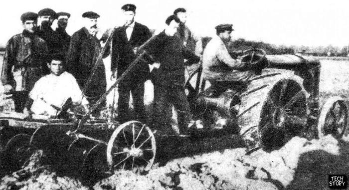 трактор колхоз1